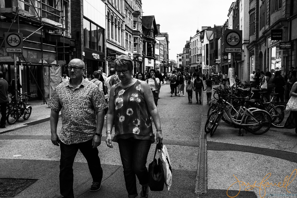 Oxford England street photography