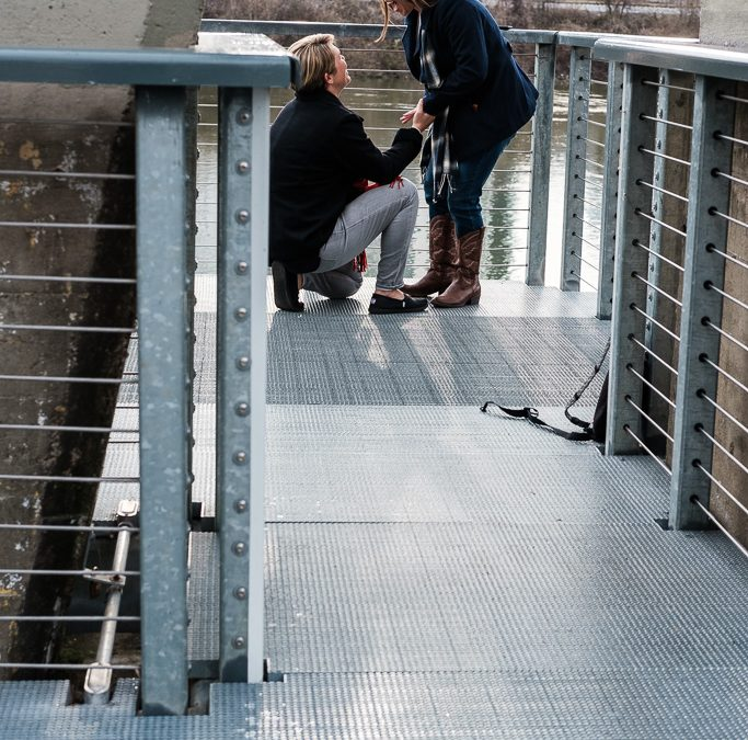 Laura and Stacy's marriage proposal | LGBT engagement | Downtown Nashville
