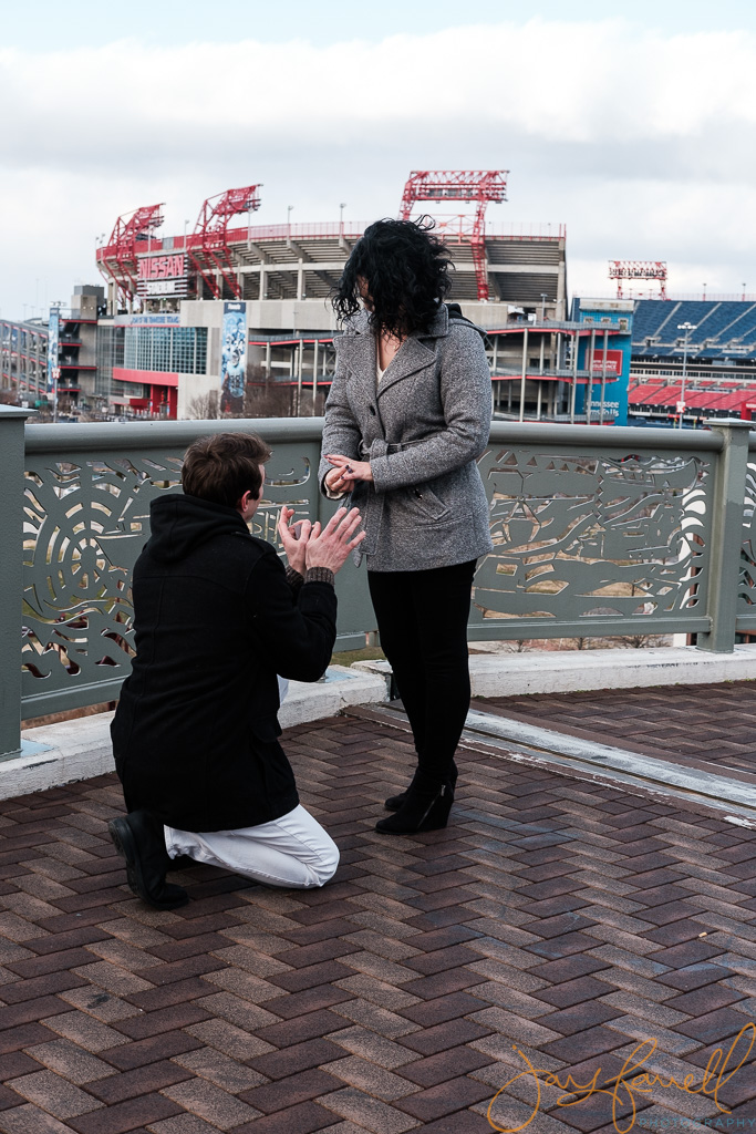 Nashville proposal photography