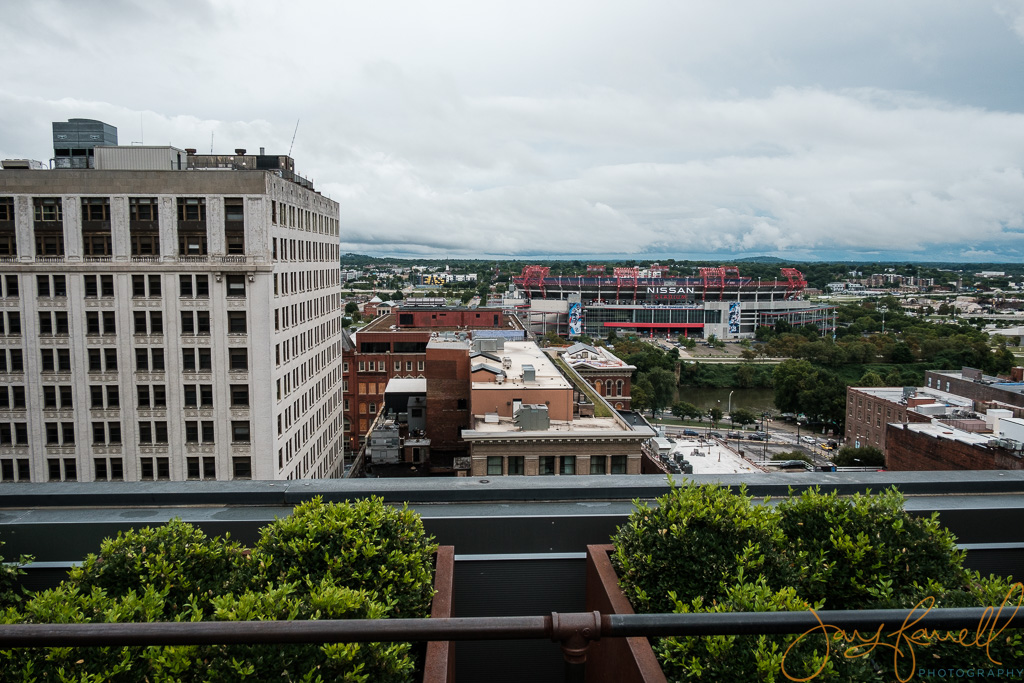 downtown Nashville rooftop